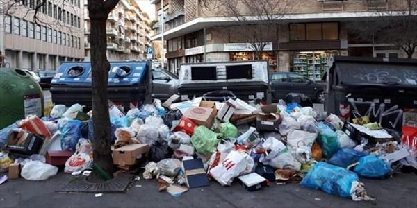 Andrea Grossi - Emergenza rifiuti a Roma